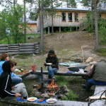 Snowtrail_Dogcamp Feuerstelle